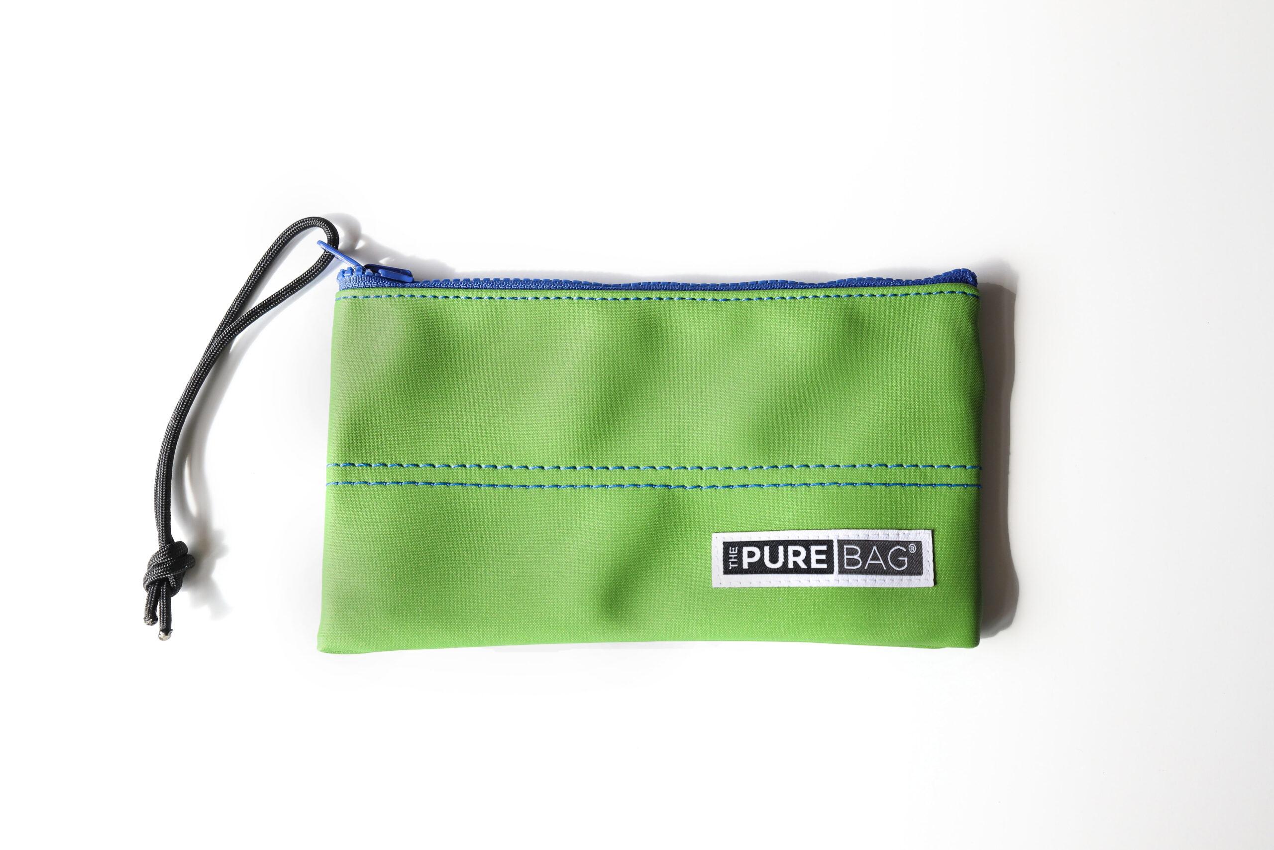 Jungle Leaf Zip Pocket